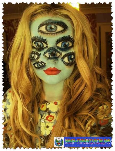 Прикольные костюмы на Хэллоуин (фото)