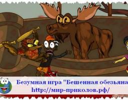 Безумная игра «Бешенная обезьяна».