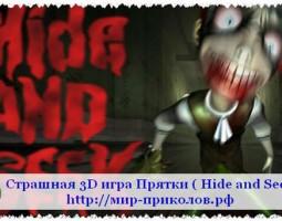 Страшная 3D игра Прятки ( Hide and Seek )