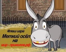 Флеш игра «Меткий осёл» Donkey Gafoor