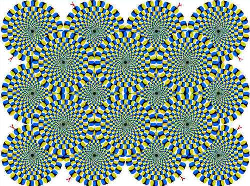 Прикольные иллюзии - обман зрения - 6