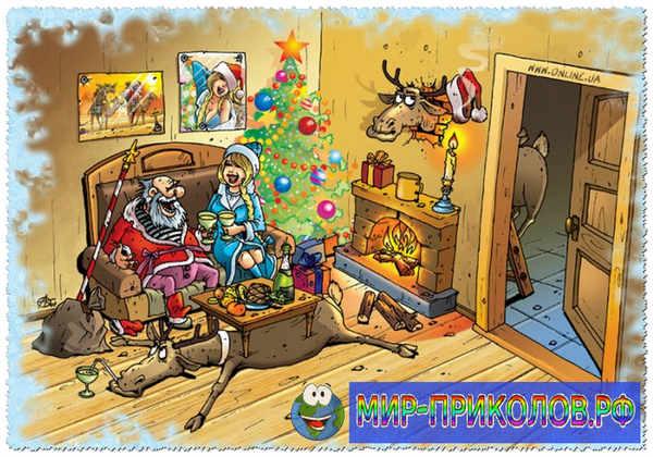 Новогодние фото приколы 7