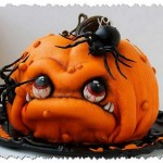 Прикольные торты на Хэллоуин