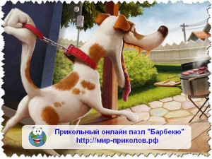 Прикольный-онлайн-пазл-Барбекю-prikolnyj-pazl-barbekyu